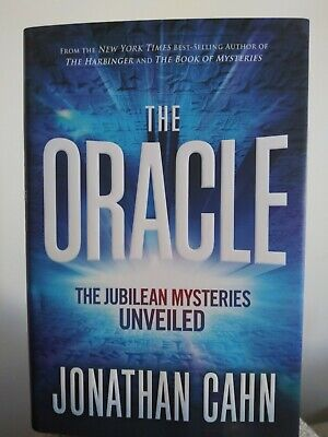 The Oracle: The Jubilean Mysteries Unveiled (Hardcover, 2019) by Jonathan Cahn