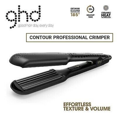 GHD Contour Professional Crimper Hair Styler Electric Ceramic Heat Styling Iron