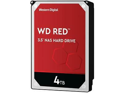 WD Red 4TB NAS WD40EFRX Internal Hard Drive, SATA 6Gb/s 64MB Cache 3 Yr Warranty