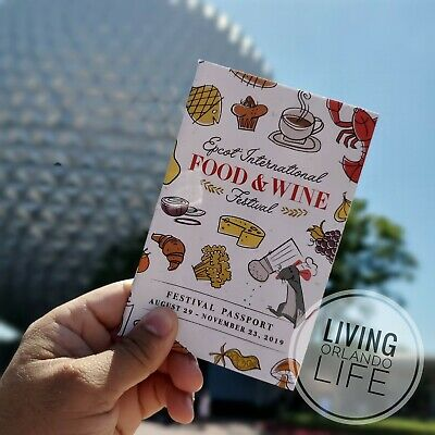 NEW - EPCOT 2019 International Food And Wine Festival Passport
