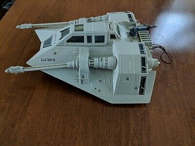 Star Wars Snowspeeder - Vintage Kenner with Harpoon Gun - 1980 ESB Snow Speeder