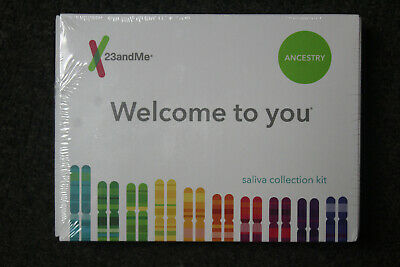 Brand New/SEALED 23andMe Personal Ancestry DNA Test Kit - Lab Fee Included