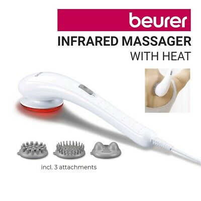 Beurer Infrared Heat Handheld Vibration Massage Powerful Full Body Back Massager