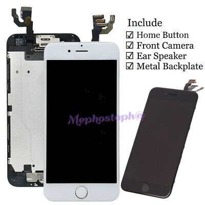 Fr iPhone 6 6S Plus 6+ Touch Digitizer LCD Screen Replacement home button camera