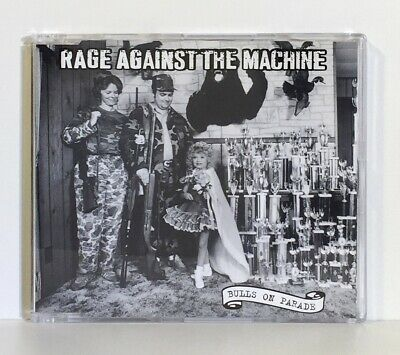 Rage Against The Machine - Bulls On Parade (Cd Single) Eur - Epic 1996