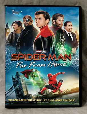 Spider-Man Far From Home (DVD 2019) Preorder for 10/1-Action/Adventure/Sci-Fi