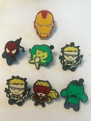 7 Avengers Disney Themed Pins Lot 79