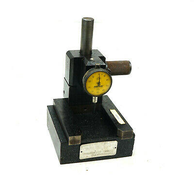 """Birdsall Grade A Inspection Surface Plate Granite Stand Comparator 6""""x6""""x2"""""""