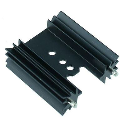 10x TO220 Extrudé Thermorétractable avec Crampons 38.1mm 10.8K/W