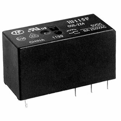 5 x 12V High Power Relay SPDT HF115F