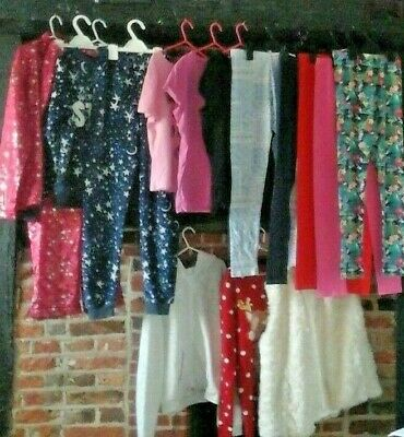 Girls Clothes Bundle age 12-13 years Pj's, Tops, Jackets, leggings, jumpers H&M
