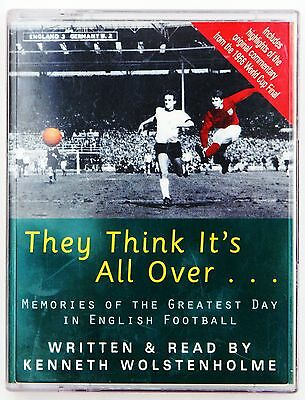 World Cup 1966 They Think Its All Over Kenneth Wolstenholme 2 Cassette Audiobook