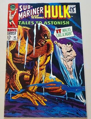 19-C0701: Tales to Astonish # 92, 1967, VF+ 8.5! 1st x-over! See Promo 7 for 7!