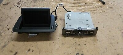 Citroen  Peugeot  Navigation Sat Nav Radio Unit Bluetooth With Dispaly