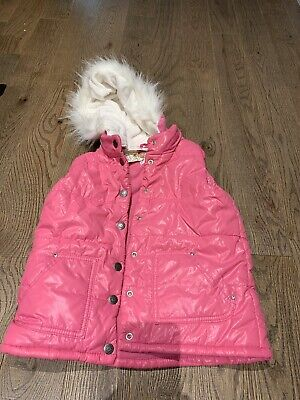 Nwot TCp Childrens Place Vest Holidays Spring Size 7/8  Hot Pink Trendy