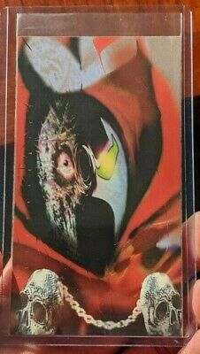 1995 Wildstorm Widevision Spawn Trading Card Subset P1