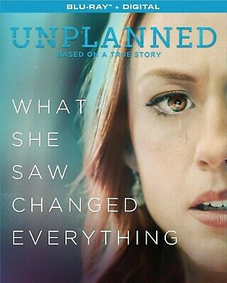 Unplanned (Blu-ray Disc, 2019) * Ashley Bratcher, Brooks Ryan * Incl'd SLIPCOVER