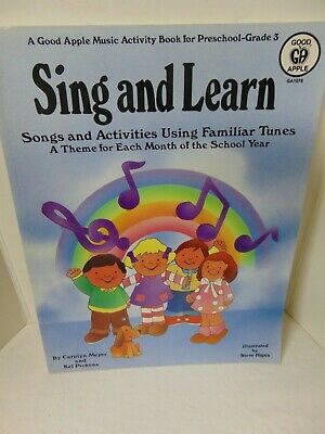 Sing and Learn A Good Apple Music Activity Book Preschool - Grade 3 - UNUSED