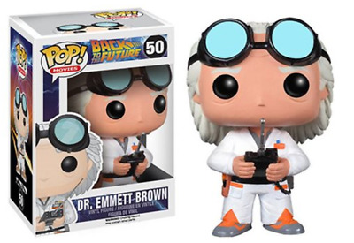 Funko Pop! Back to the Future Doc Brown Pop! Vinyl Figure #50 In Stock