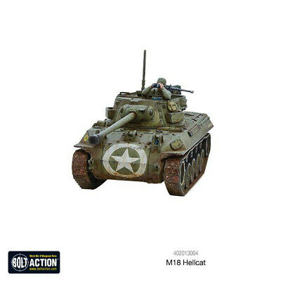 M18 Hellcat US Tank Destroyer +BONUS! WWII 28mm 1/56th WARLORD BOLT ACTION