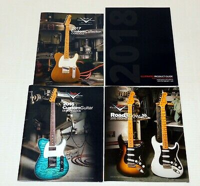 FENDER Guitar 2015 2016 2017 2018 Custom Shop Catalog Telecaster Stratocaster