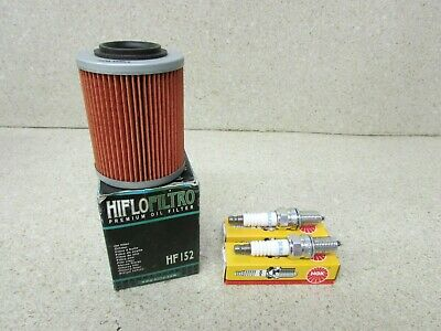 Oil Filter /& Spark Plugs CAN AM  11-15  800 Commander Air filter