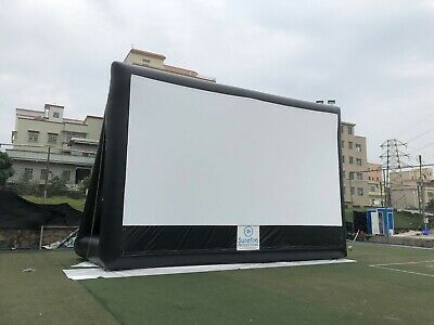 32x17 PVC Commercial Inflatable Screen w/ blower, Dedicated Cust Serv