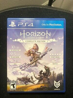 Horizon: Zero Dawn (Sony PlayStation 4, Complete Edition) Code Included