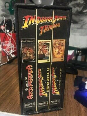 Indiana Jones Trilogia Vhs Español