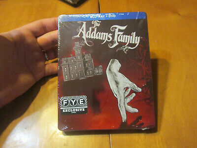 THE ADDAMS FAMILY BLU RAY Steelbook Limited Edition EXCLUSIVE FYE