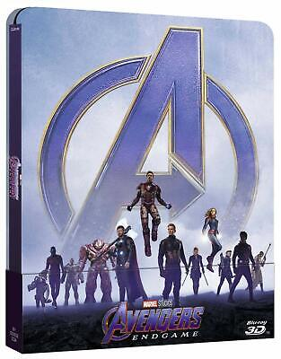 Avengers: Endgame (3D + 2D Blu-ray Steelbook) NEW SEALED