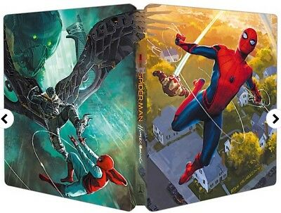 Spider-Man Homecoming (Blu-ray Steelbook) AURO 3D AUDIO NEW & SEALED