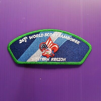 24th World Scout Jamboree 2019 USA Contingent PATCH / WESTERN REGION