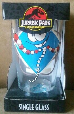 Brand New in Box Jurassic Park 25th Anniversary Mr. DNA Single Pint Glass
