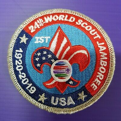 24th World Scout Jamboree 2019 USA Contingent PATCH / OFFICIAL IST BADGE