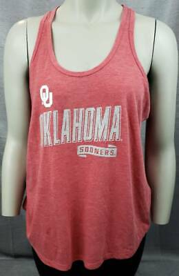 Oklahoma SOONERS Rivalry Threads 1//2 Zip PULLOVER Sweashirt Women Size S 4//6 OU