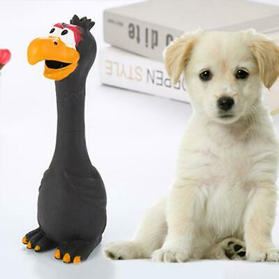 Small Screaming Rubber Chicken Squeaky Pet Puppy Bulk Tough Dog Chew Toy Gift