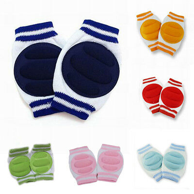 Kids Crawling Elbow Cushion 2Pcs Infant Toddlers Knee Pads Baby Safety Protector