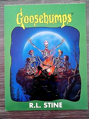 "1996 Goosebumps ""Unused"" Postcard-R.l.s.-Sp.ed.#2 More Tales To Give You G/Bumps"