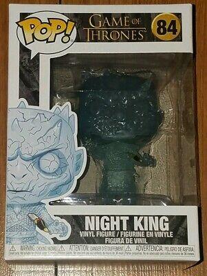Funko Pop Game of Thrones #84 Crystal Night King with Dagger In Hand