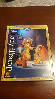 Lady and the Tramp (Blu-ray/DVD, 2012, 3-Disc Set, Diamond Edition