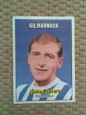 An Excellent A&BC Chewing Gum Scottish Series Green Back Football Card J McGrory