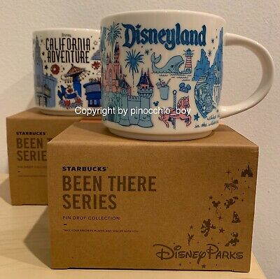 *BRAND NEW* Starbucks Disneyland / DCA Disney Parks BEEN THERE SERIES Mug