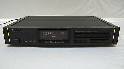Pioneer F91 Reference Digital Synthesizer Tuner Highend Stereo Urushi F-91