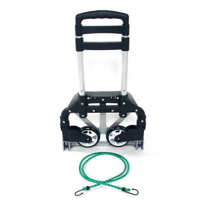 170lb Cart Folding Dolly Collapsible Trolley Push Hand Truck for Shopping