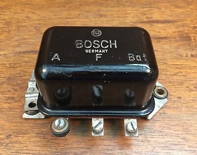 Porsche 356 Bosch 6V Voltage Regulator - Nice!