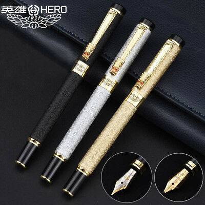 Hero 343 Chinese Wind Restoring Ancient Ways Fountain Pen Fine 0.5mm Nib Gifts