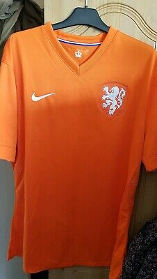 Netherlands Holland Home Football Shirt XXL 2XL Player Issue