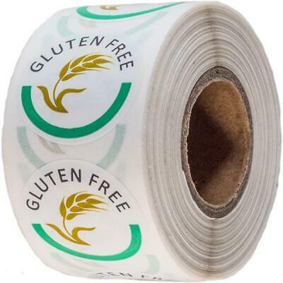 Mr-Label Catering Stickers - Gluten Free 25mm - 500 Labels per Roll