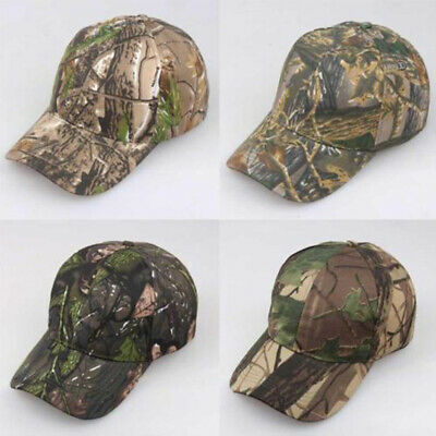 Hunting Fishing Camouflage  Camo Army Sun Hat Men Baseball Cap Military Tactics